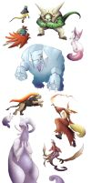 Pokemon Group:  X/Y  Version by Legend13