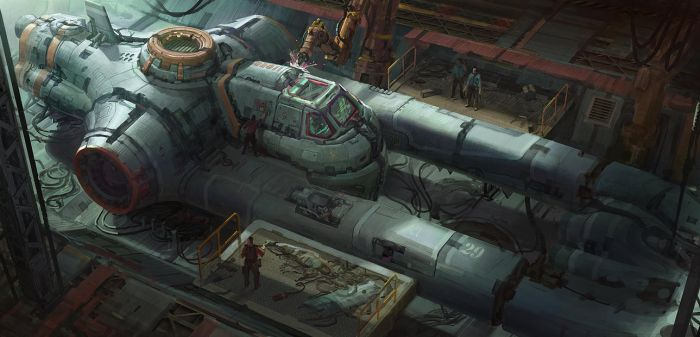 ship repair by mMark