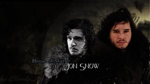 Jon Snow by BloodyMary-NINA