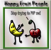 Happy Fruit People 20: Pop by SavvyRed
