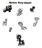 Mystery Pony Adopts by rustics