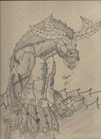 Alistar The Minotaur by IncredibleCheese