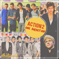 Action 2 - One Direction by Dhaliixa1D