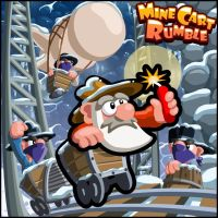 Mine Cart Rumble - Promo Art by RichMorgan