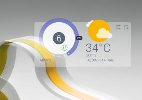 iColor Style Widget for xwidget by jimking