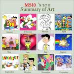 Summary of Art 2011 by Edness-Madness