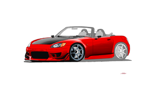 S233Progression: Honda s2000 Microsoft Paint1 by Ant787