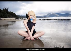 Fate stay night Saber Cosplay 01 by eefai