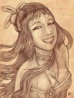 The naive smile by Soji-chan