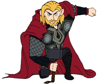 KP: Ron Stoppable as Thor by belagus