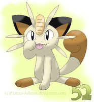 052-Meowth by FENNEKlNS