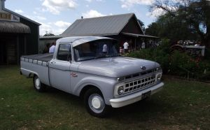 Old Ford pickup on display by RedtailFox