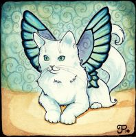 Fairy Cat Number 5 by starwoodarts