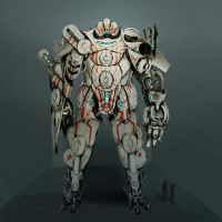 robot concept 01 by Omuk
