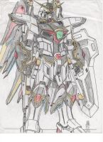 White Knight Gundam by cpuhuman