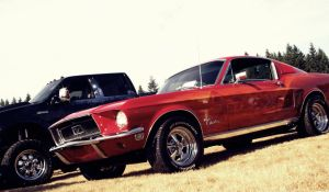 68 Mustang Fastback by FrancesColt