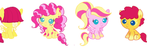 Open: PinkieShy adopts by Dellisa121