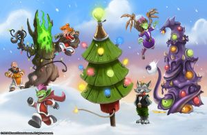Warcraft - Holiday Card 2010 by SamwiseDidier