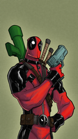 Deadpool - thekidkaos by grampsart