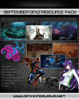 GFXzone September Resource Pack by VampireGFX