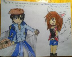 Roy Mustang the Pirate :D by neon-talon-claw