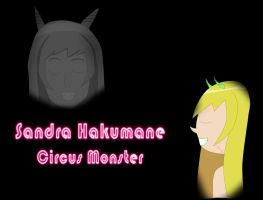 Sandra Hakumane Circus Monster Cover art by IceCreamBubblegum
