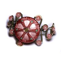 Pink Urchin Bracelet by CatherinetteRings