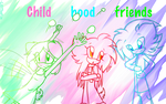 Childhood friends by LilliTheFox