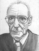 william burroughs by amybalot