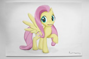 Fluttershy (origin) by Stavrapid-official