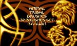 Animal Brushes tribal by alwinred