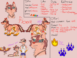 Fiona Ref. by TheEpicWingedWolf
