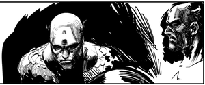 Warmup -  Capt. America, after Zaffino by davidmarquez