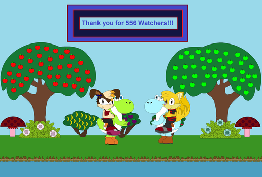 Thank you for 556 Watchers!!! by Vickicutebunny