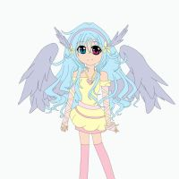 A Little Angel (Colouring) by GloriousCraftsxoxo