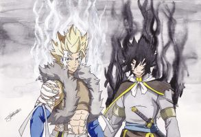 Sting And Rogue - The Twin Dragons by InlineSpeedSkater