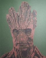 Groot by Papergizmo