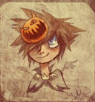 KH: HalloweenTown Sora by Alias-Hugo