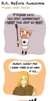 Chibi Prussia Diaries -004- by Arkham-Insanity