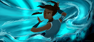 Korra by matthoworth