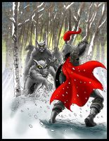 The wolf's are Coming: Coloured by SemajZ