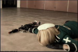 APH: Dead Soldier And His Gun by LawlipopChan