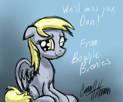 We'll miss you, Dan by Ceehoff