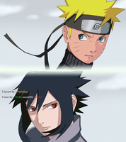 The Clash Of Titans ~ Naruto Shippuden by TheMuseumOfJeanette