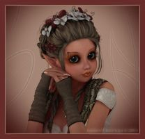 Portrait of a Pixie by karibous-boutique