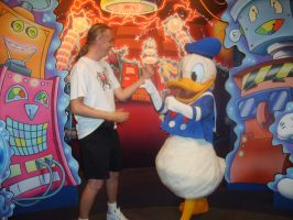 Duel to the Death with Donald Duck by Malidicus