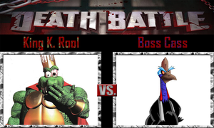 King K. Rool vs Boss Cass by SonicPal