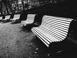 Benches by rusrainbow