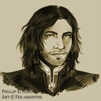 Portrait Commission: Phillip by fee-absinthe