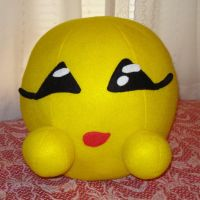 Custom plush - Flirty Emoticon by silentorchid